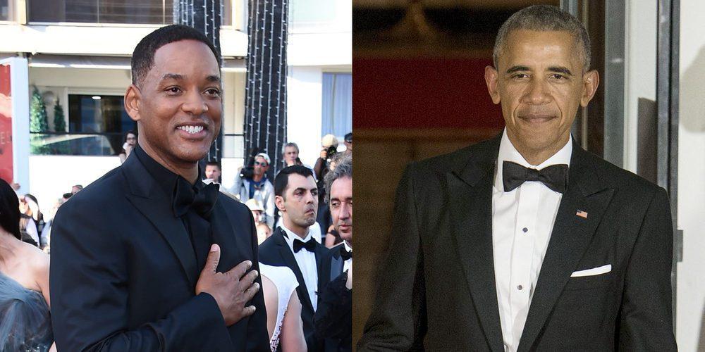 Así reaccionó Barack Obama al enterarse de que Will Smith quiere llevar su vida al cine