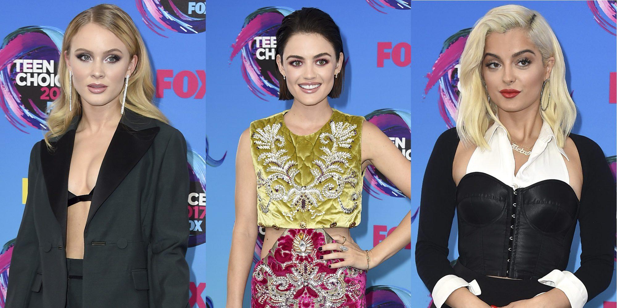 Zara Larsson, Lucy Hale, Bebe Rexha y Rita Ora deslumbran en la alfombra roja de los Teen Choice 2017