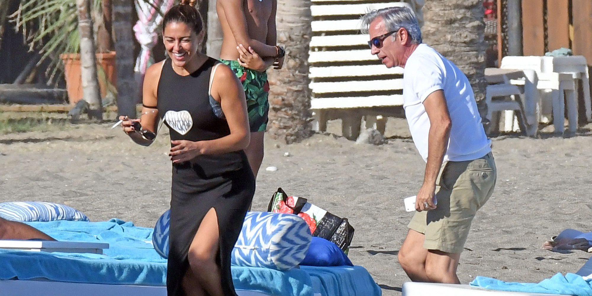 Imanol Arias e Irene Meritxell celebran su reconciliación en Marbella con Valeria Mazza y Alejandro Gravier