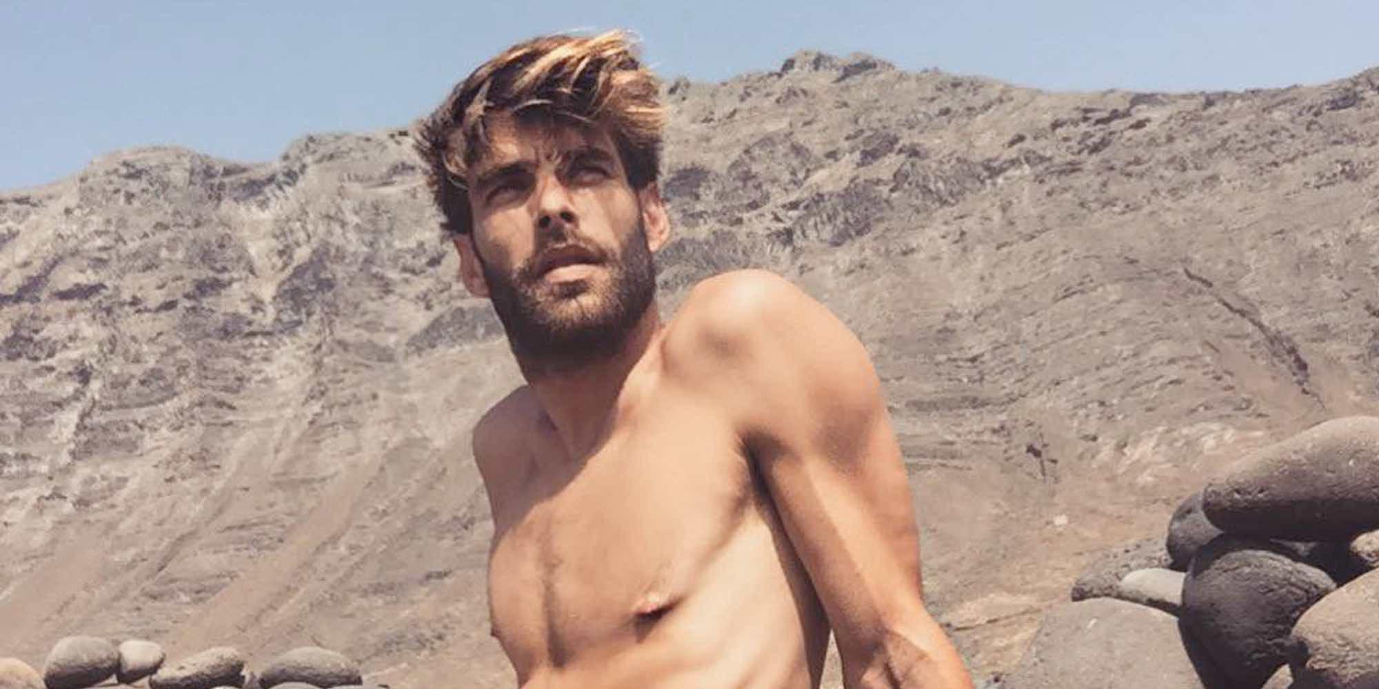 Jon Kortajarena revoluciona Instagram posando desnudo junto al Guggenheim