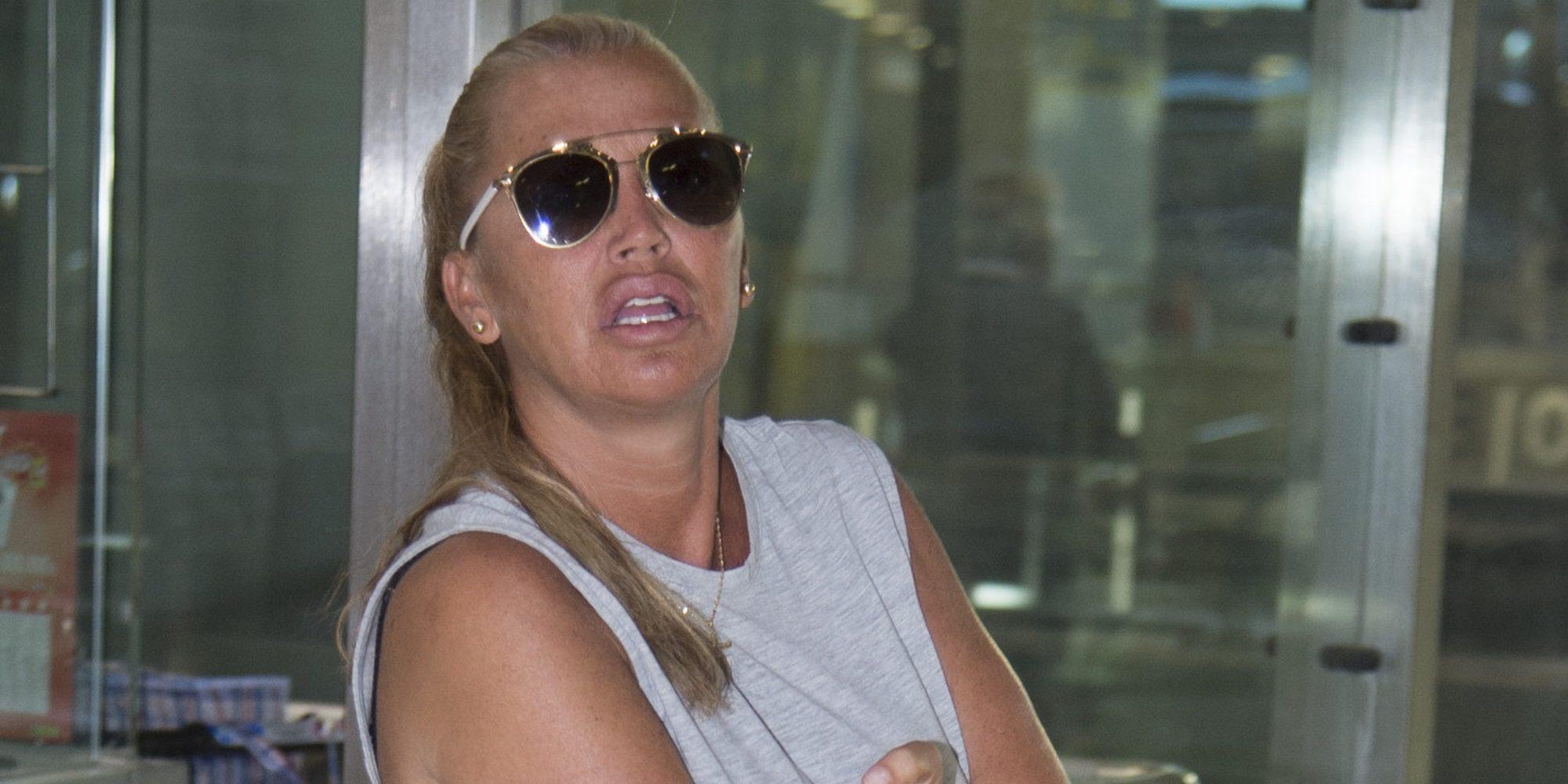 El estallido de ira de Belén Esteban contra los medios de comunicación por su hija Andrea Janeiro