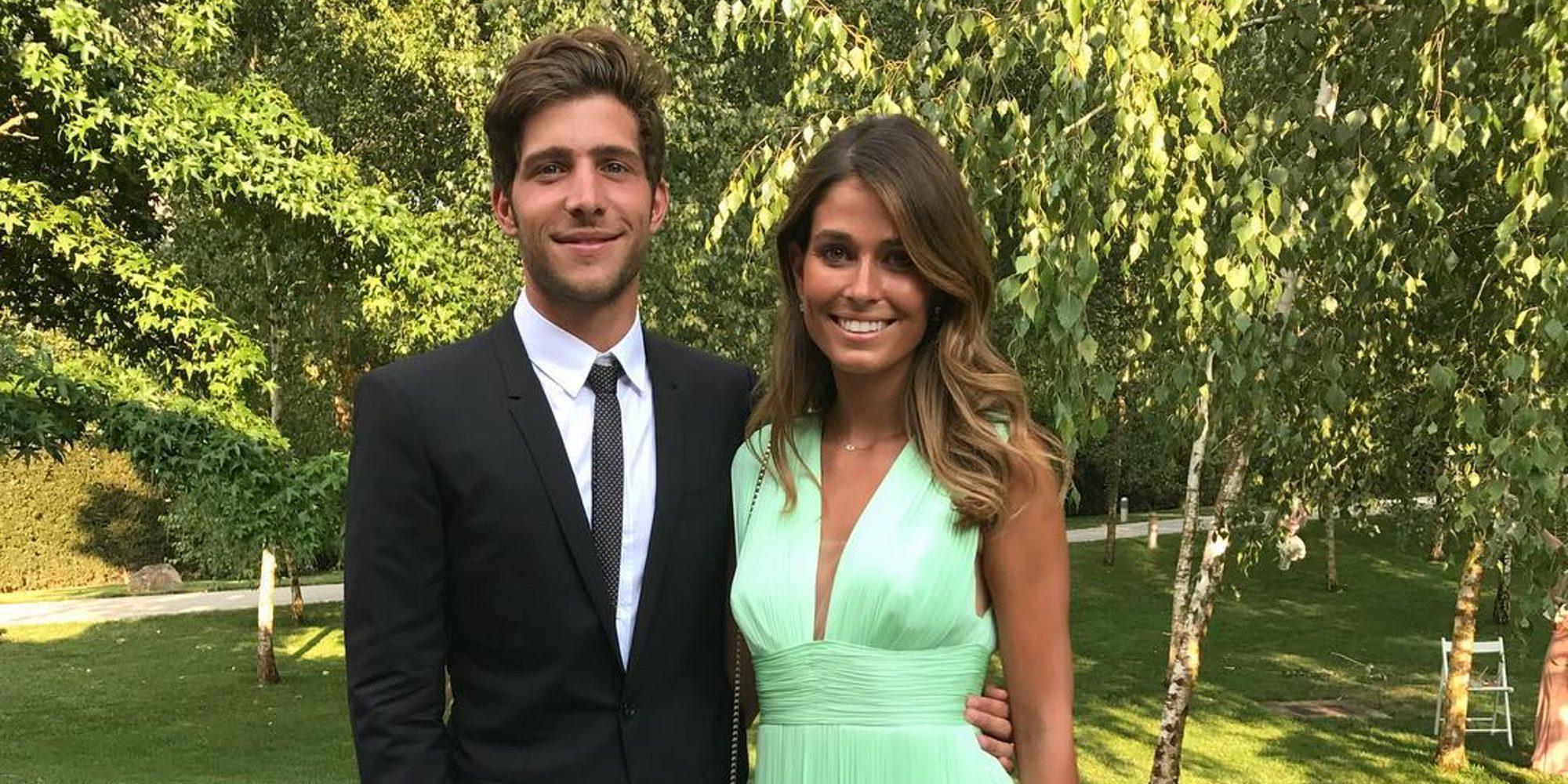 Sergi Roberto se ha comprometido con su novia la modelo israelí Coral Simanovich