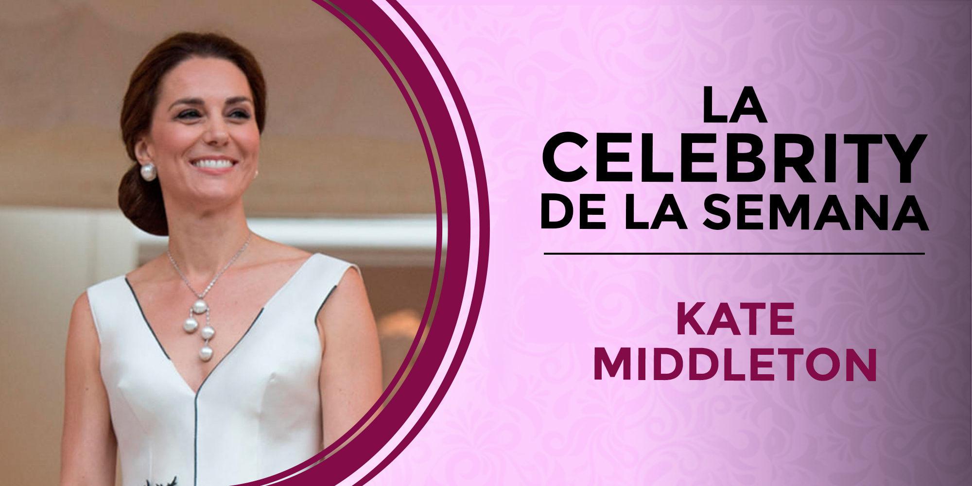 Kate Middleton, la celebrity de la semana por su accidentado embarazo y el agridulce desenlace de su juicio