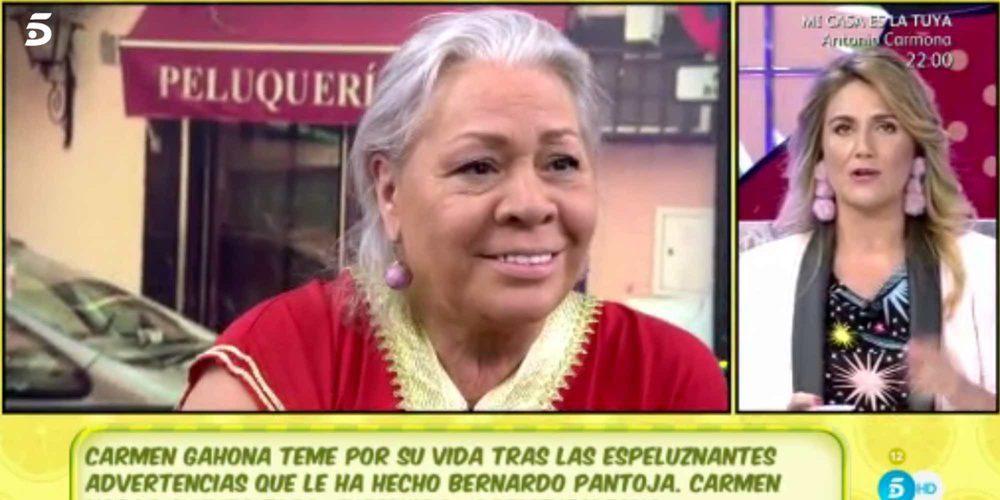 """Carmen Gahona arremete contra Carlota Corredera: """"No eres nadie para llamarme la atención ni darme lecciones"""""""