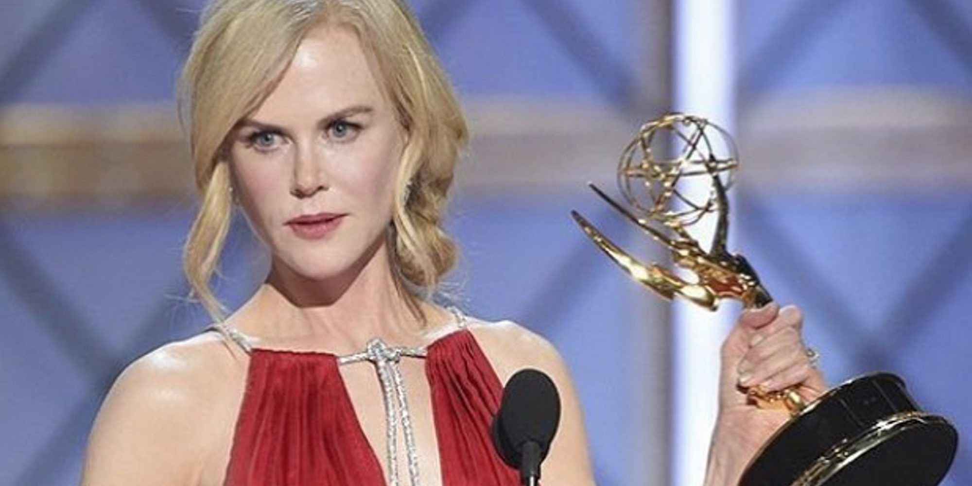 Nicole Kidman conciencia sobre la violencia doméstica en su discurso tras ganar el Emmy 2017