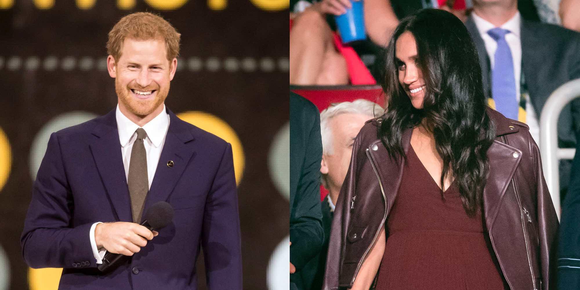 El falso primer posado del Príncipe Harry con Meghan Markle tras confirmar su noviazgo