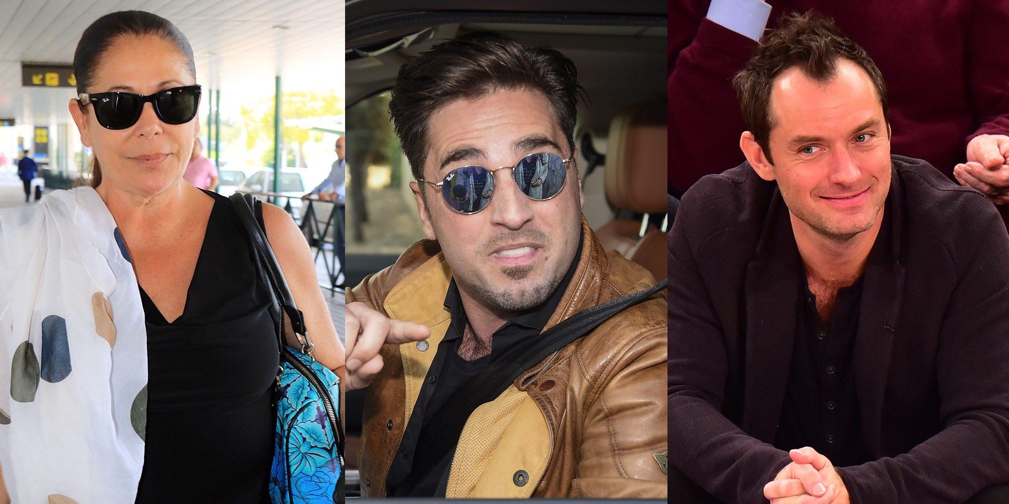 David Bustamante, Isabel Pantoja, Jude Law... y otros famosos que tuvieron enfrentamientos con los paparazzi