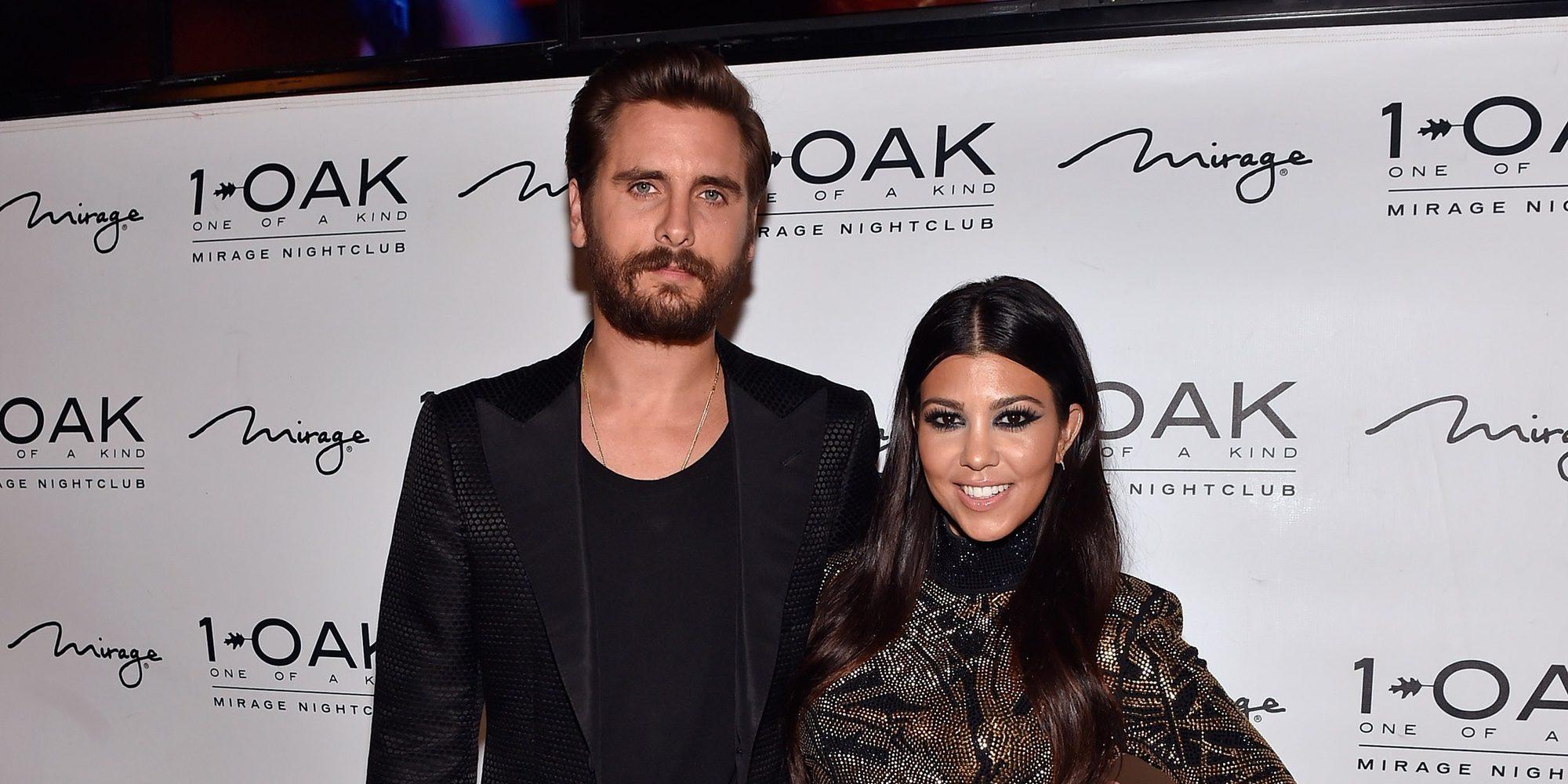 """Kourtney Kardashian sobre Scott Disick: """"Tengo que aguantar cómo está con una prostituta diferente cada día"""""""