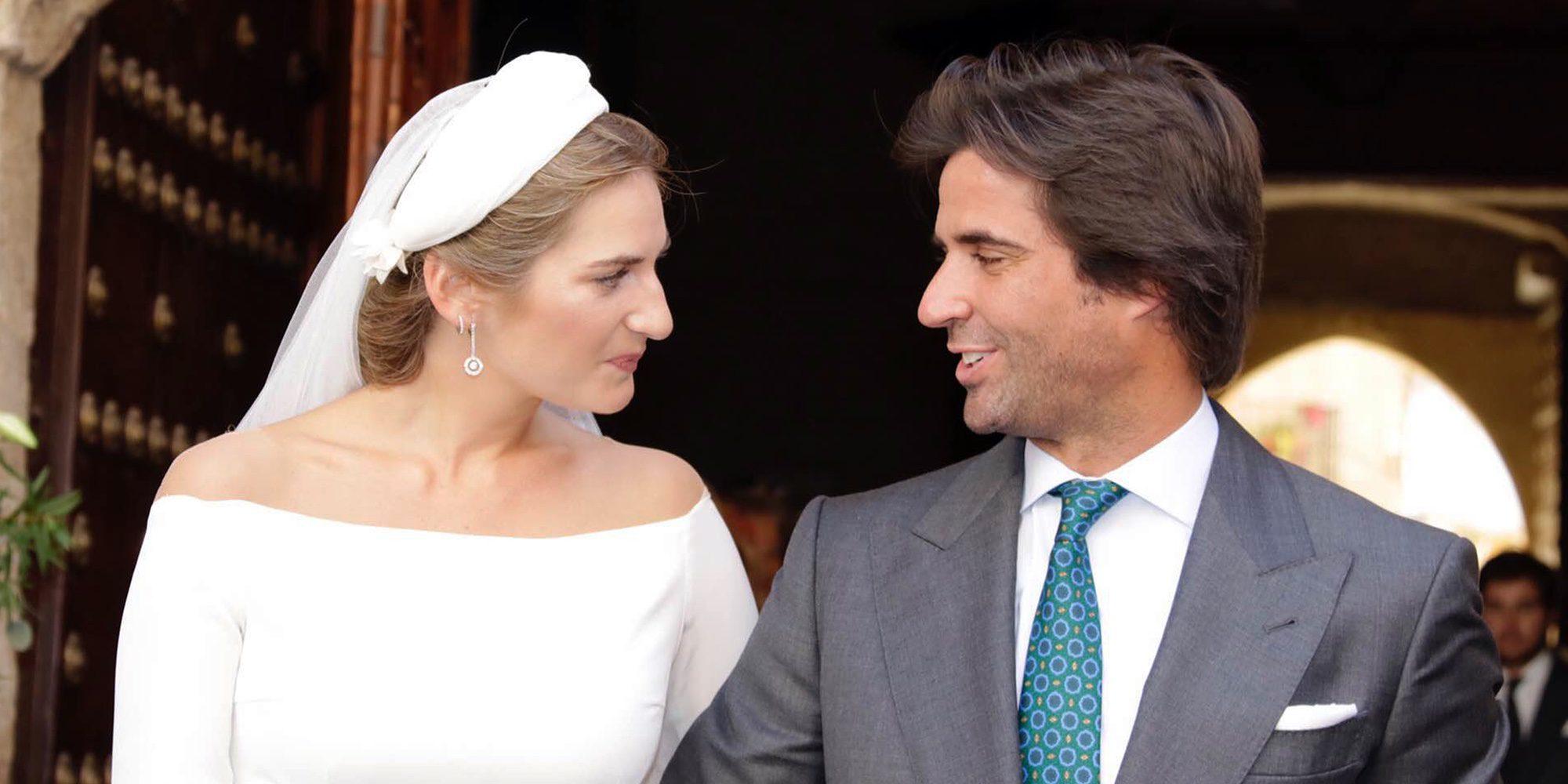 Sibi Montes y Álvaro Sanchís se casan en Sevilla