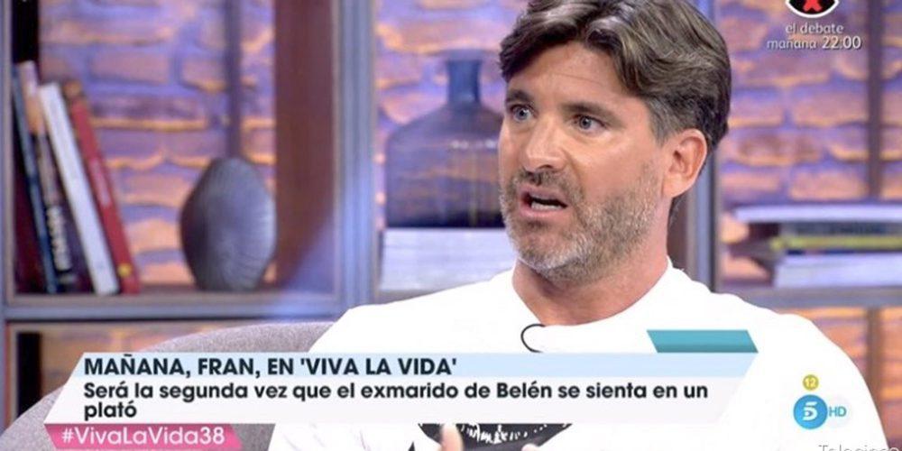 """Toño Sanchís habla sobre la relación de Belén Esteban y Fran Álvarez: """"Ese matrimonio era horrible"""""""