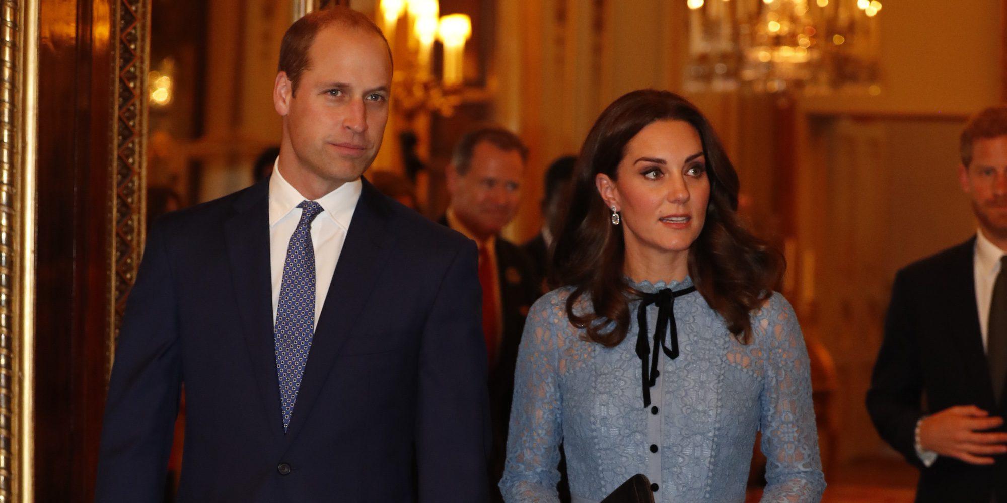 Kate Middleton luce embarazo en su reaparición con el Príncipe Guillermo tras anunciar que espera su tercer hijo