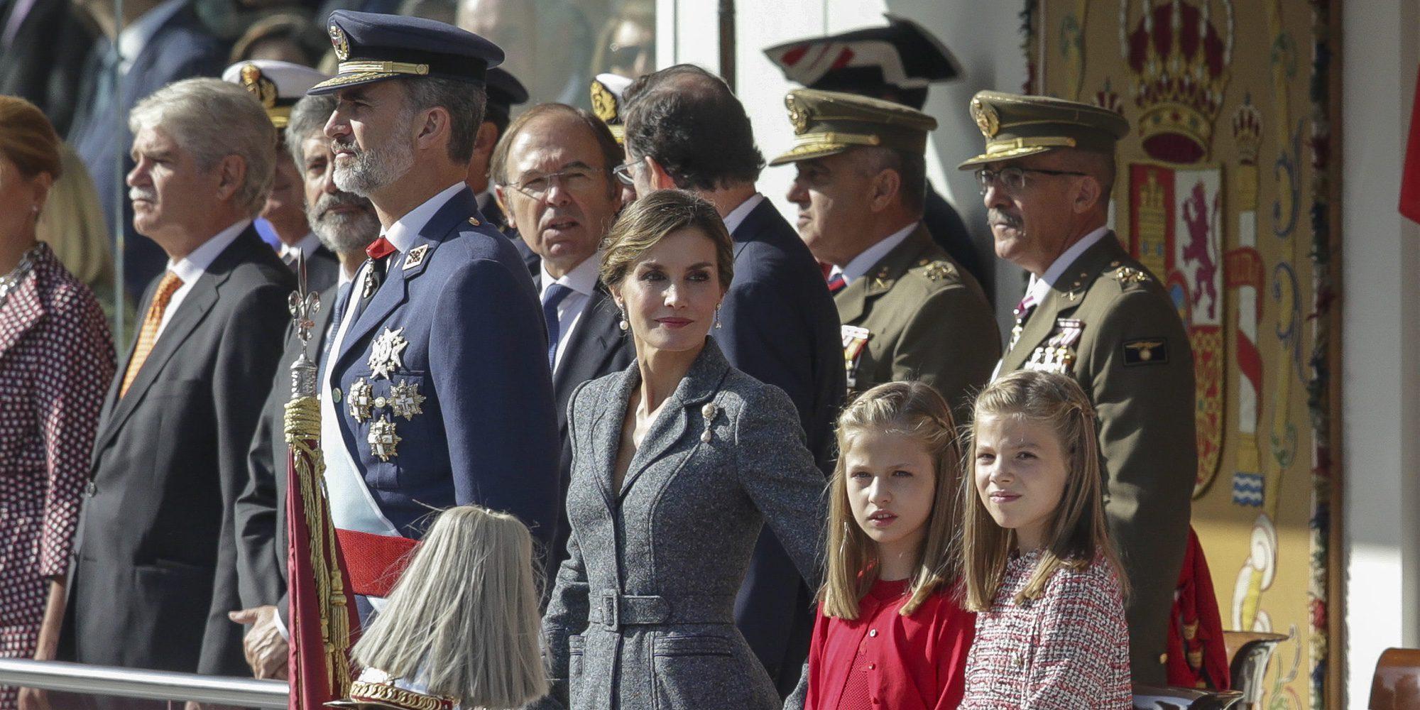 Las razones por las que el Día de la Hispanidad 2017 ha sido muy duro para la Familia Real