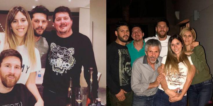 Así son y así se llevan Rodrigo, Matías y Marisol, los tres hermanos de Leo Messi