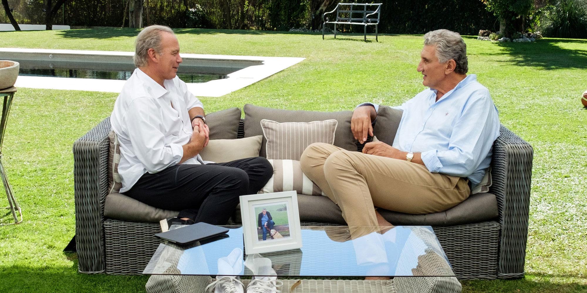 Confidencias, yoga y baloncesto: la visita de Fernando Romay a 'Mi casa es la tuya'