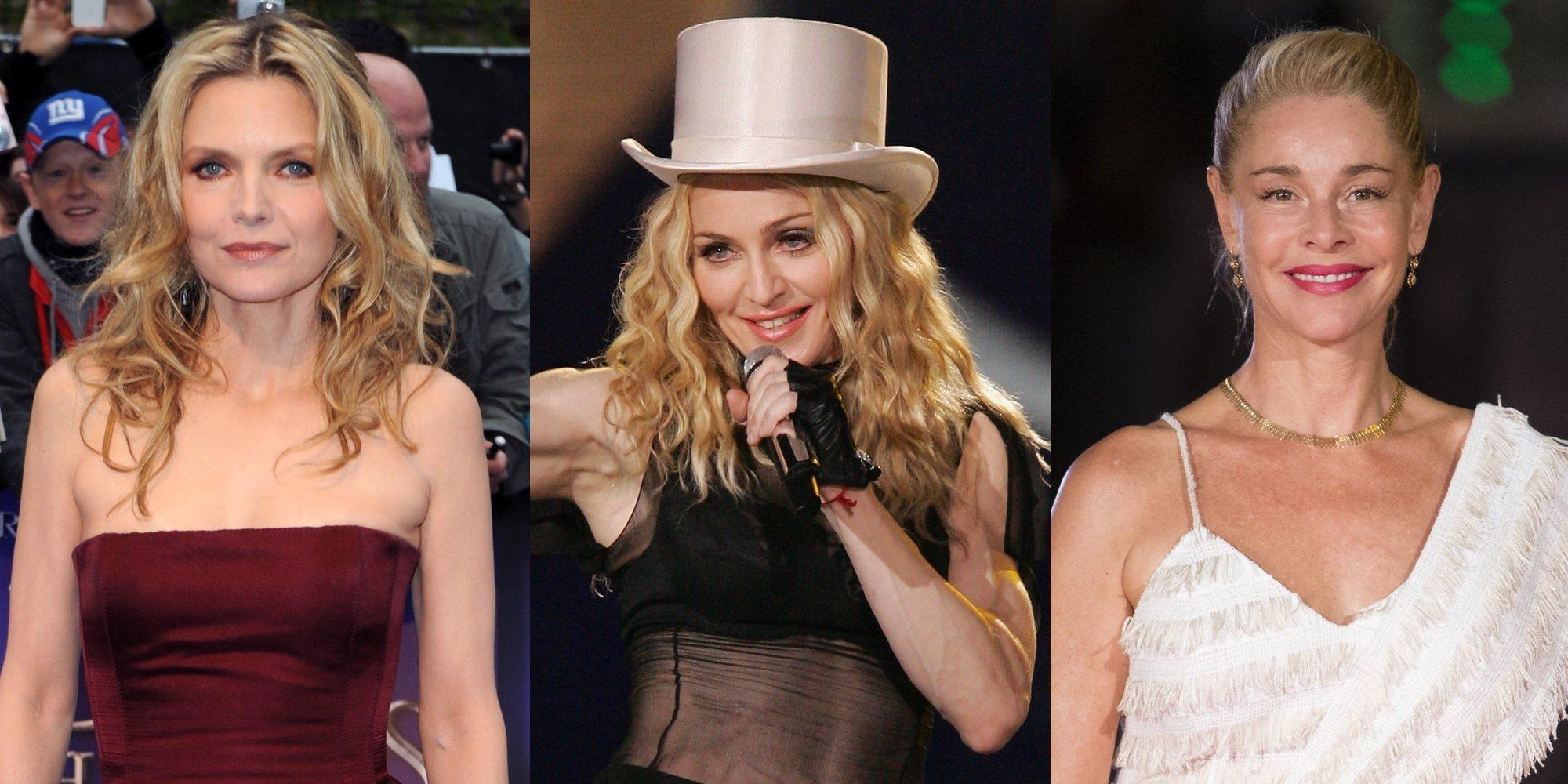 Madonna, Belén Rueda o Michelle Pfeiffer y otras famosas que no aparentan tener más de 50 años