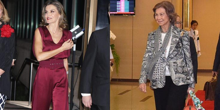 La Reina Letizia, de premios sin el Rey Felipe, y la Reina Sofía, entre royals en Tailandia