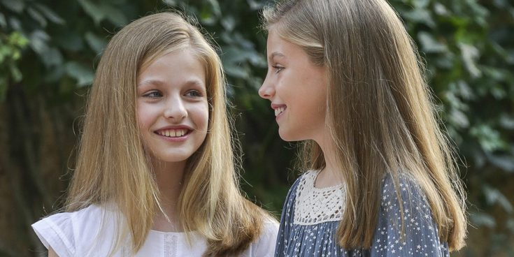 Así son y así se llevan la Princesa Leonor y la Infanta Sofía, dos hermanas unidas por un destino real