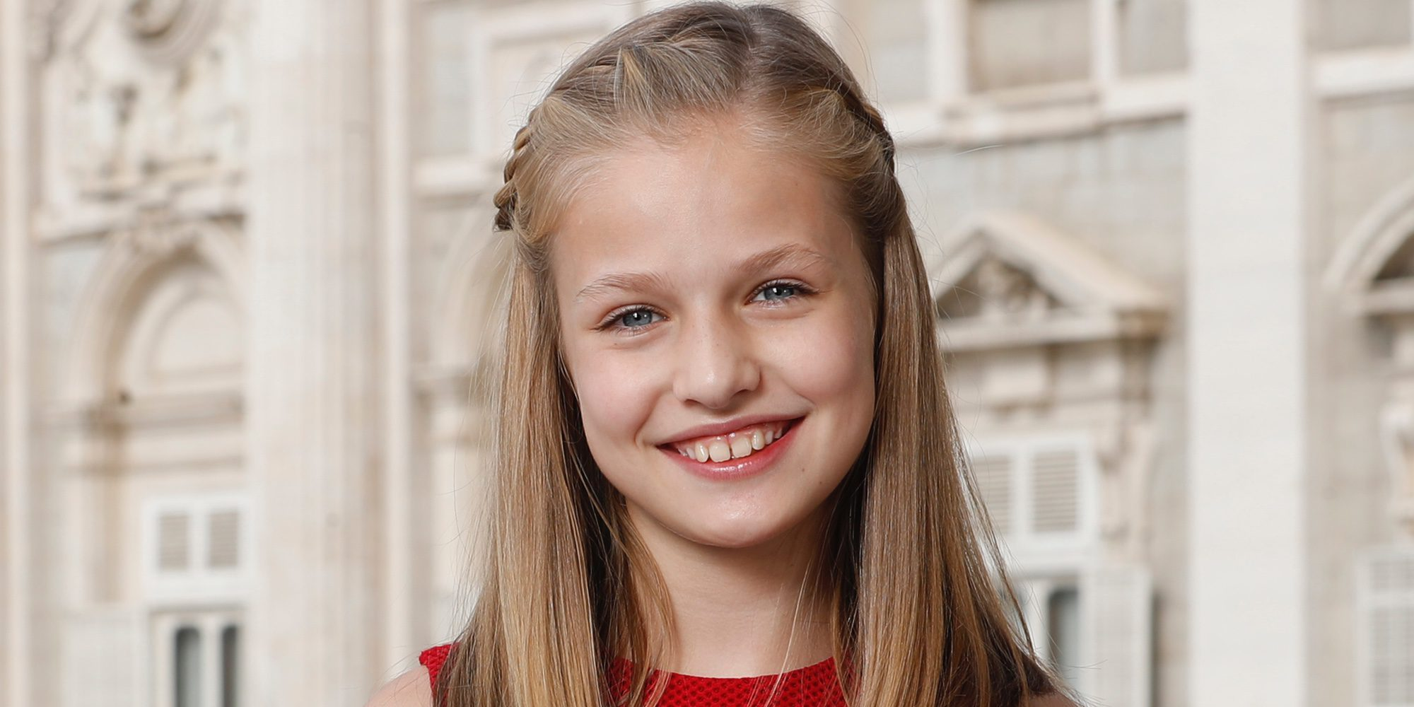 La Princesa Leonor estrena su primer retrato oficial en solitario a los 12 años
