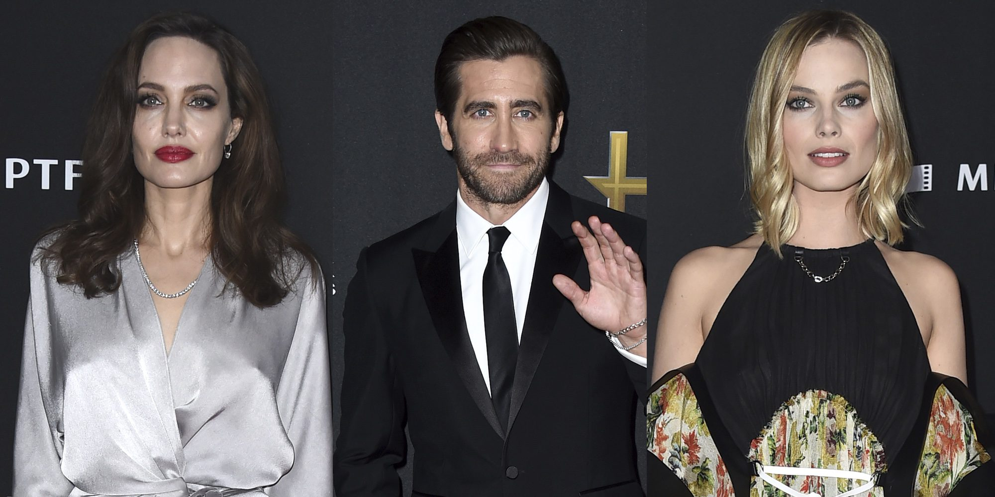 Angelina Jolie, Jake Gyllenhaal o Margot Robbie brillaron con luz propia en los Hollywood Film Awards 2017