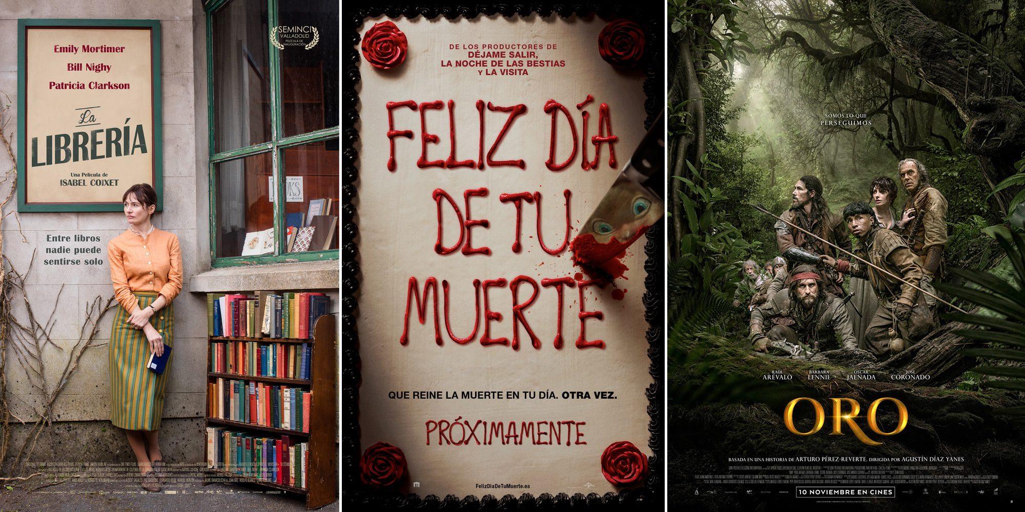 'Feliz día de tu muerte' y 'Oro' encabezan los estrenos de cine de la semana