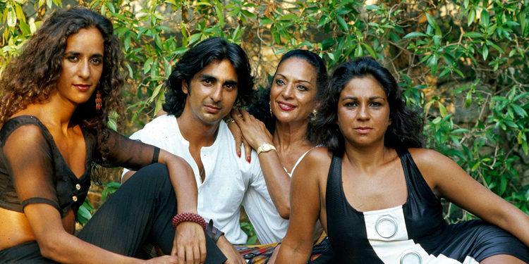 Así son y así se han llevado Lolita, Antonio y Rosario, los tres hijos de Lola Flores