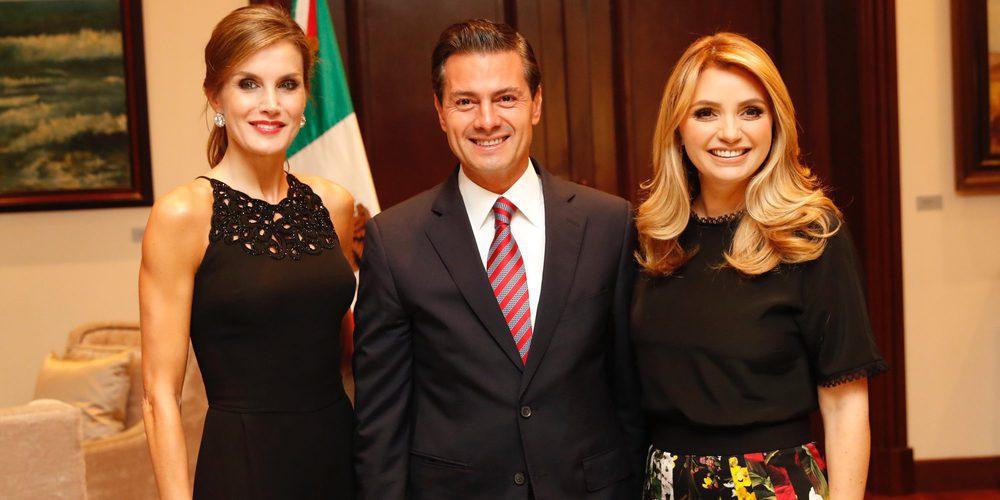 La Reina Letizia une sus fuerzas con Peña Nieto y Angélica Rivera contra el cáncer en su visita a México