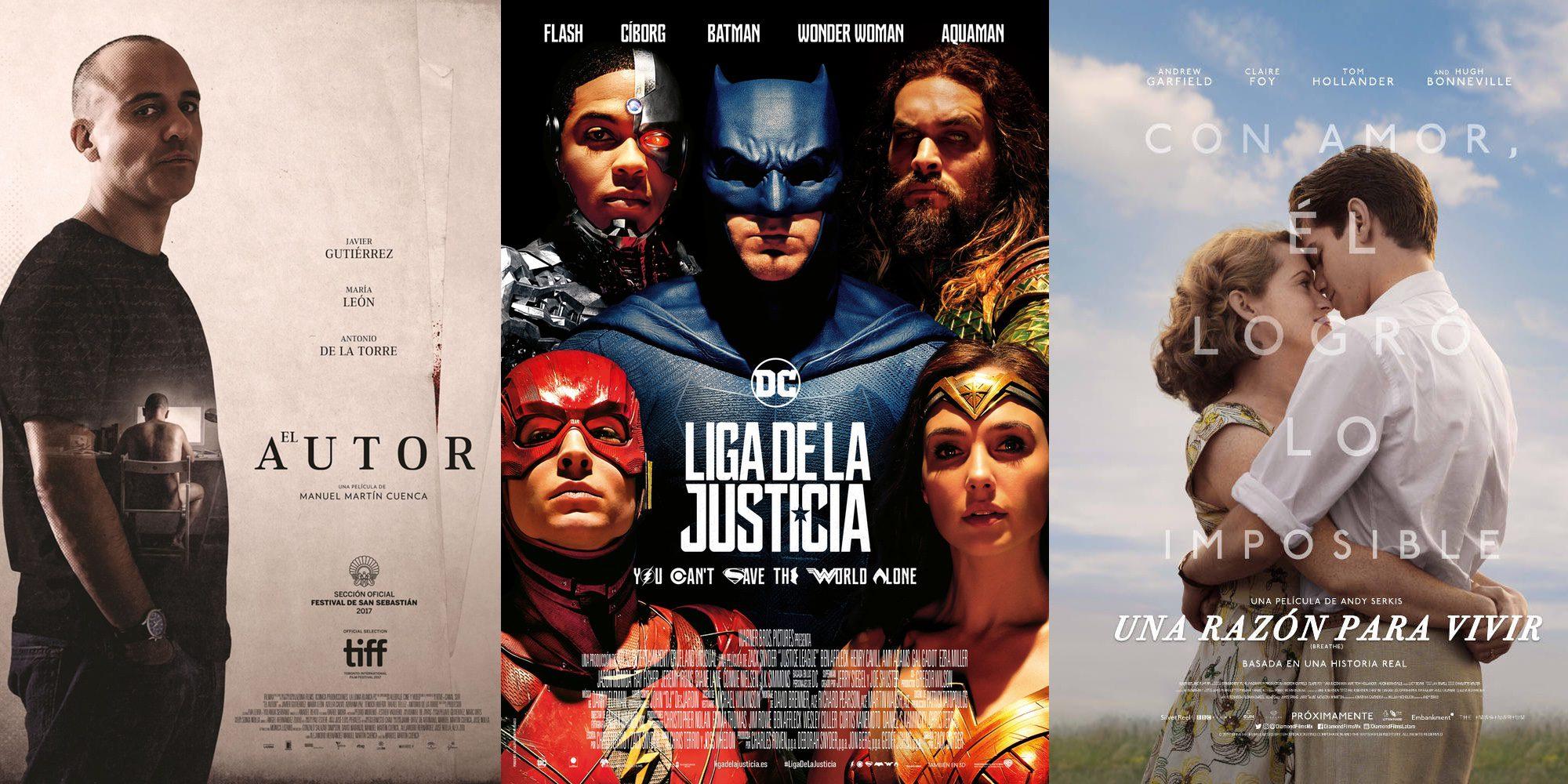 'Liga de la Justicia' y 'Una razón para vivir' lideran la cartelera de esta semana