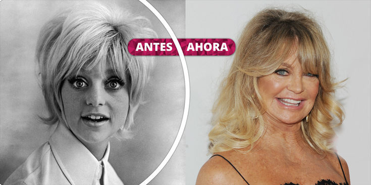 Así ha cambiado Goldie Hawn: La evolución del aspecto de la icónica actriz estadounidense