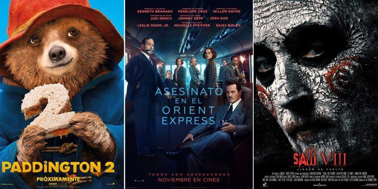 'Asesinato en el Orient Express' y 'Saw VIII' entre lo más esperado de los estrenos de cine de la semana