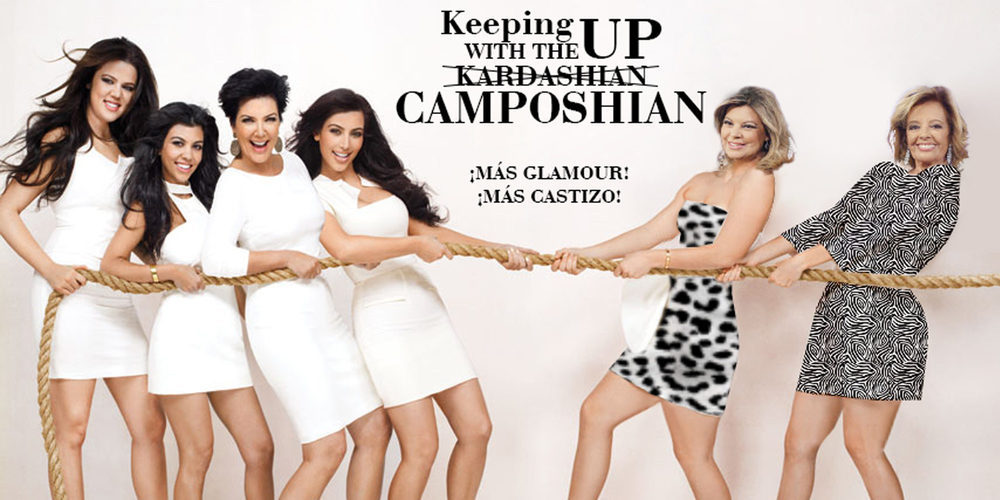 Telecinco planea un encuentro entre la familia Campos y las Kardashian en la nueva temporada de 'Las Campos'
