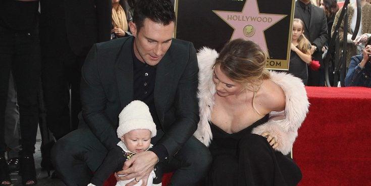 El desnudo más tierno de Adam Levine y su hija Dusty Rose