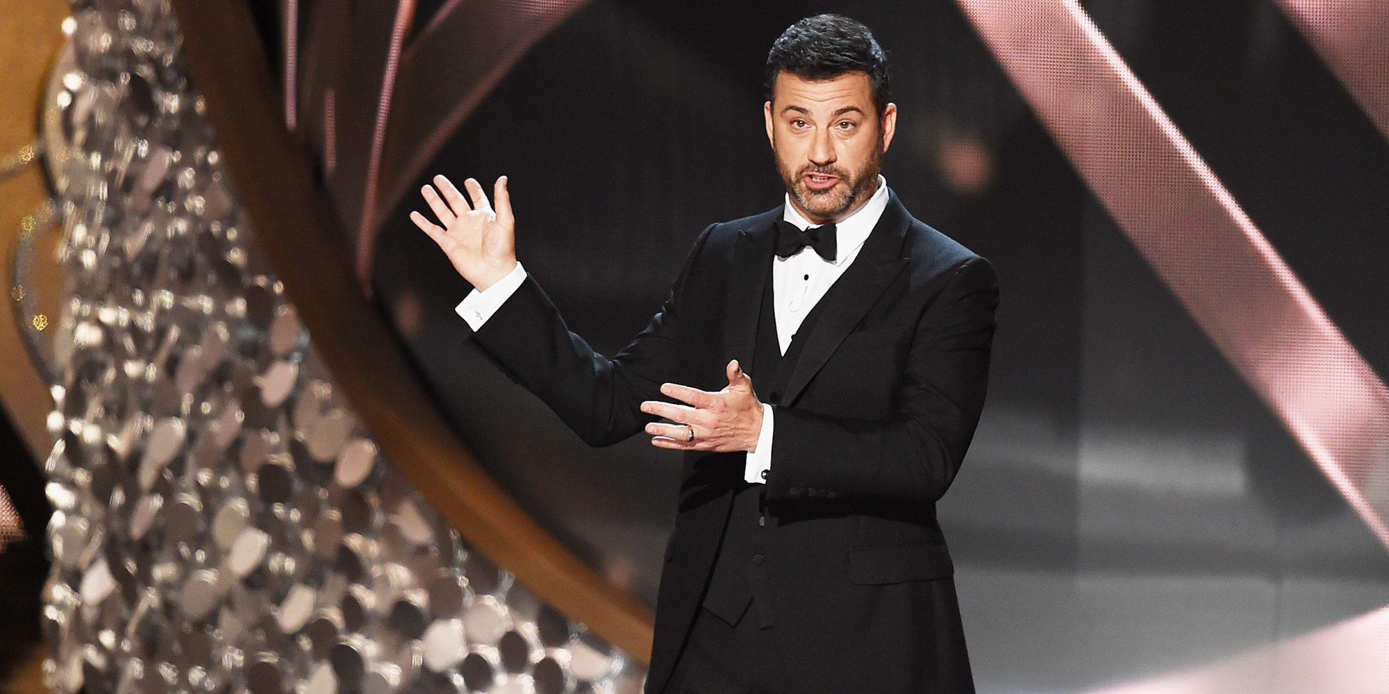 Jimmy Kimmel reaparece en su programa acompañado de su hijo Billy