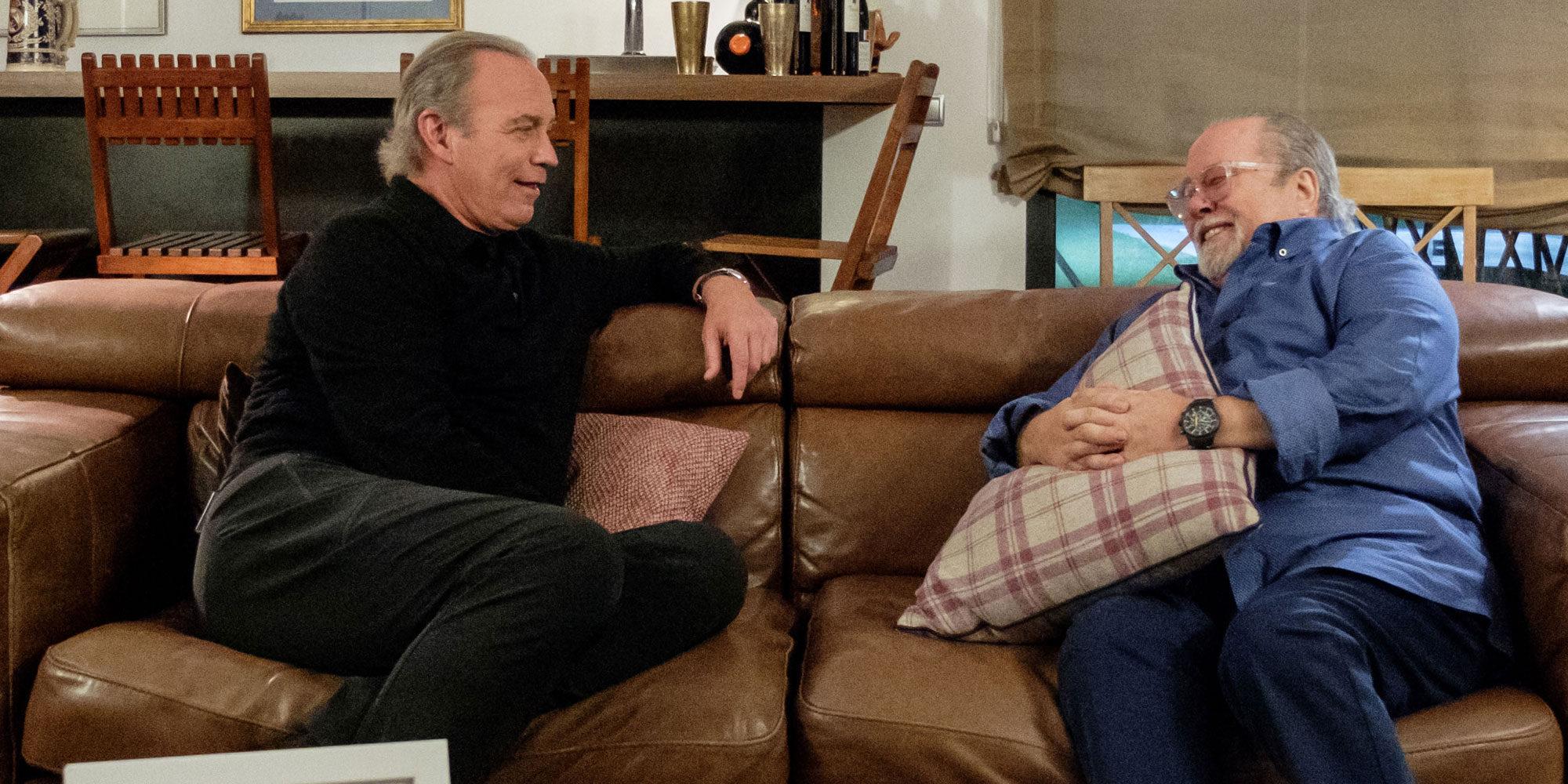 Así ha sido el reencuentro oficial entre Bertín Osborne y Paco Arévalo