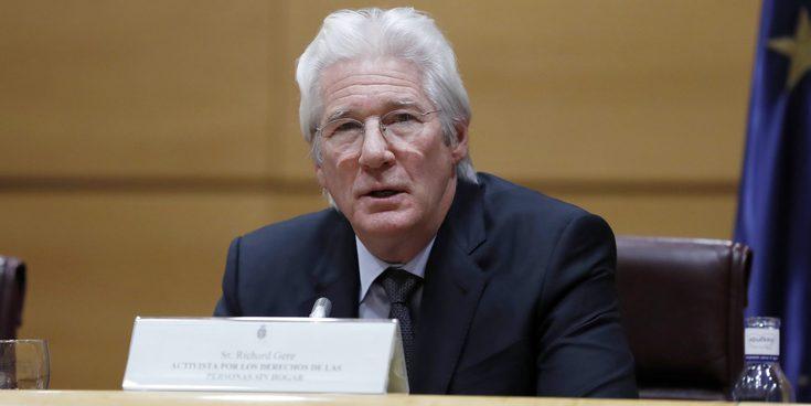 Richard Gere pide compromiso a los políticos españoles con las personas sin hogar