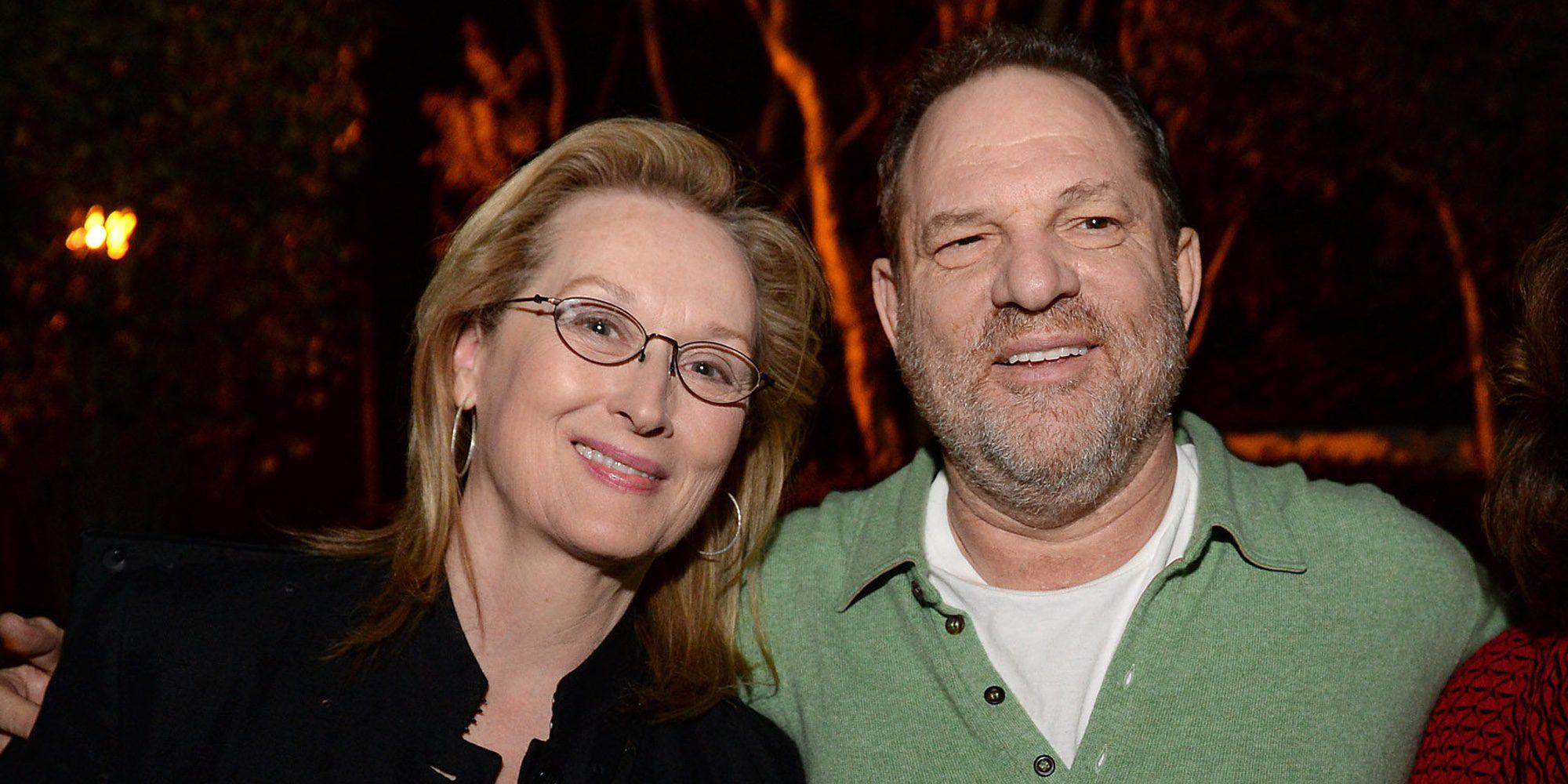 """""""Ella lo sabía"""": la campaña con carteles que acusan a Meryl Streep de conocer los abusos de Harvey Weinstein"""