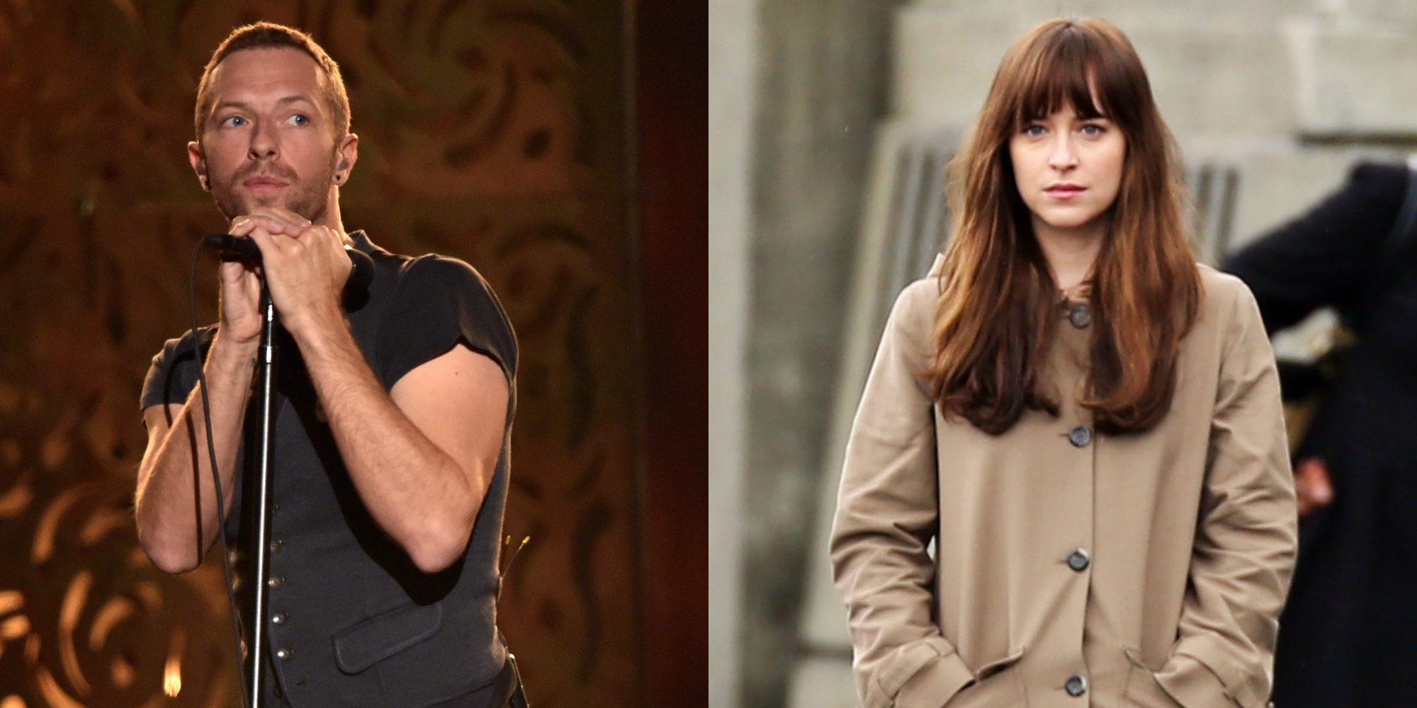 La escapada de Dakota Johnson y Chris Martin a París