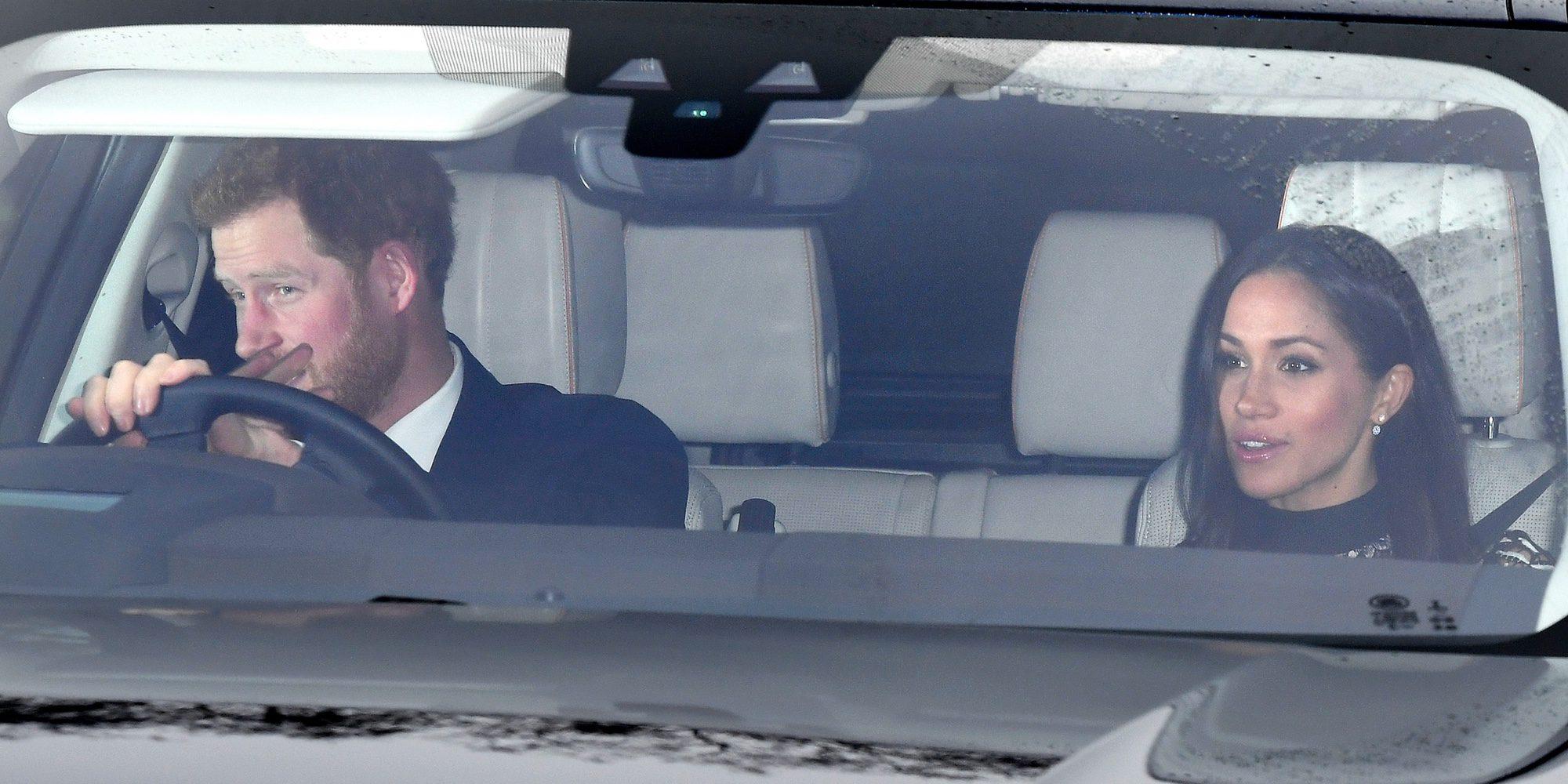 Meghan Markle debuta en el almuerzo navideño de Buckingham Palace con la Familia Real Británica