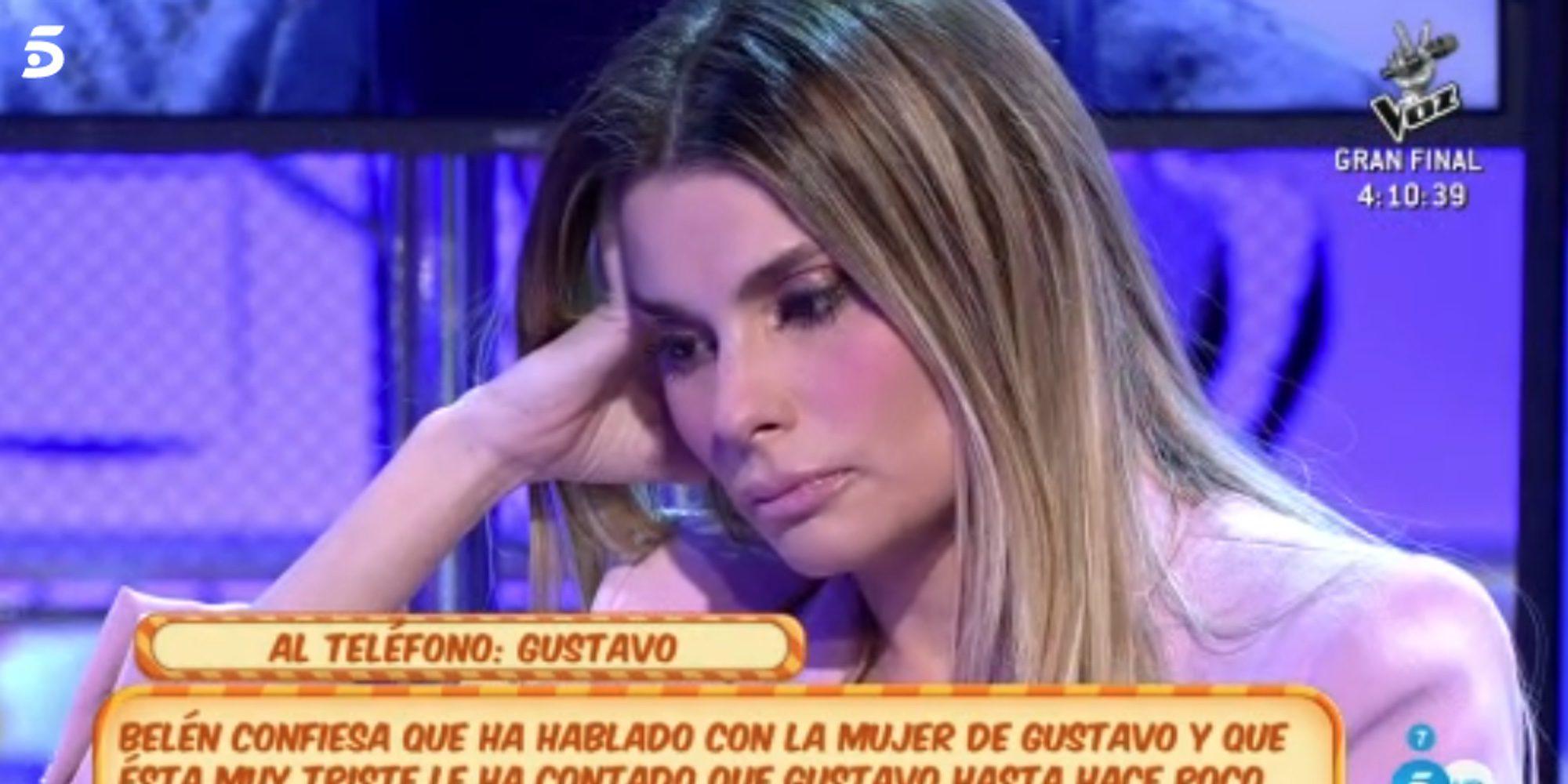 La conversación más tensa entre María Lapiedra y Gustavo González en directo