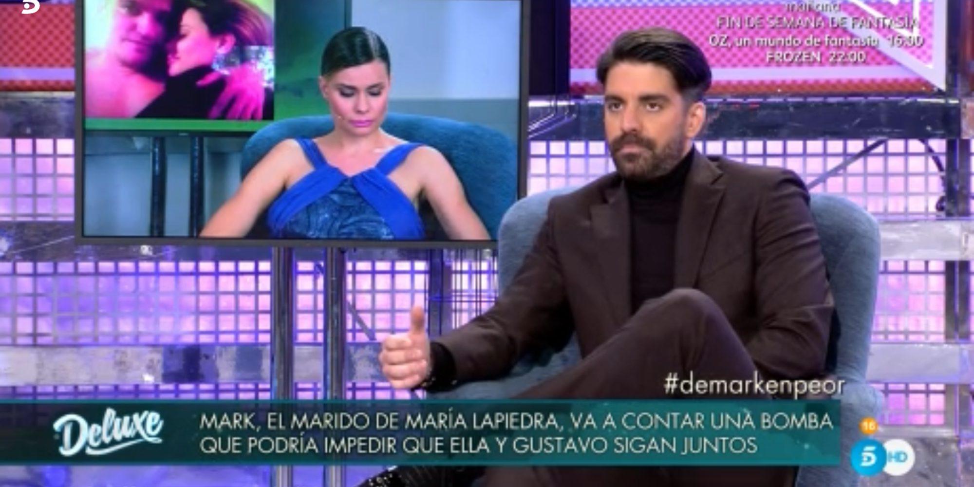 """Mark Hamilton, muy dolido con María Lapiedra y Gustavo González: """"Les deseo lo peor"""""""