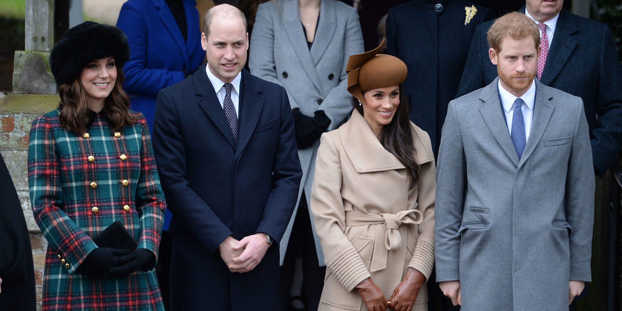 Meghan Markle debuta en la Misa de Navidad en Sandringham arropada por el Príncipe Harry y los Duques de Cambridge