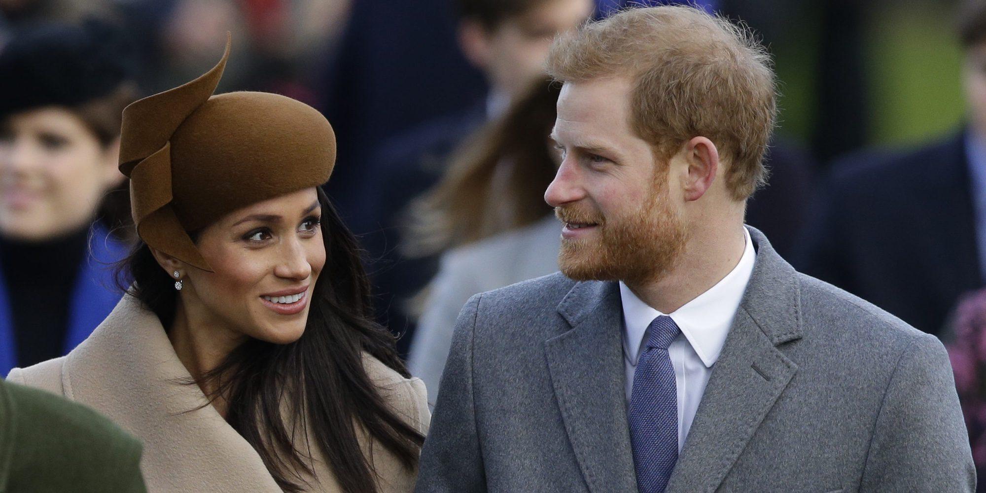 El Príncipe Harry y Meghan Markle despidieron 2017 en la Riviera francesa