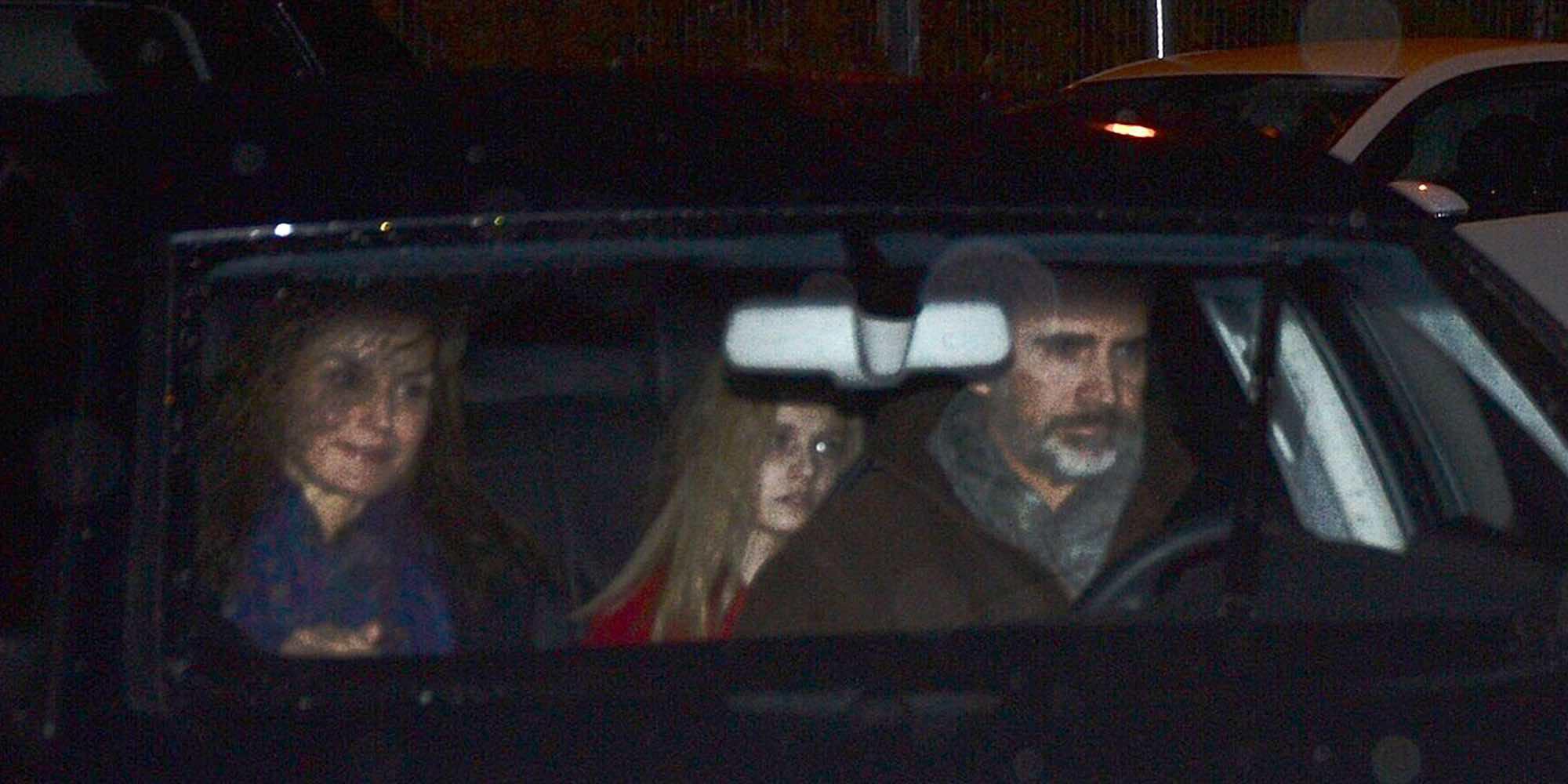 La Princesa Leonor y la Infanta Sofía pasan la tarde de Reyes con su abuelo Jesús Ortiz