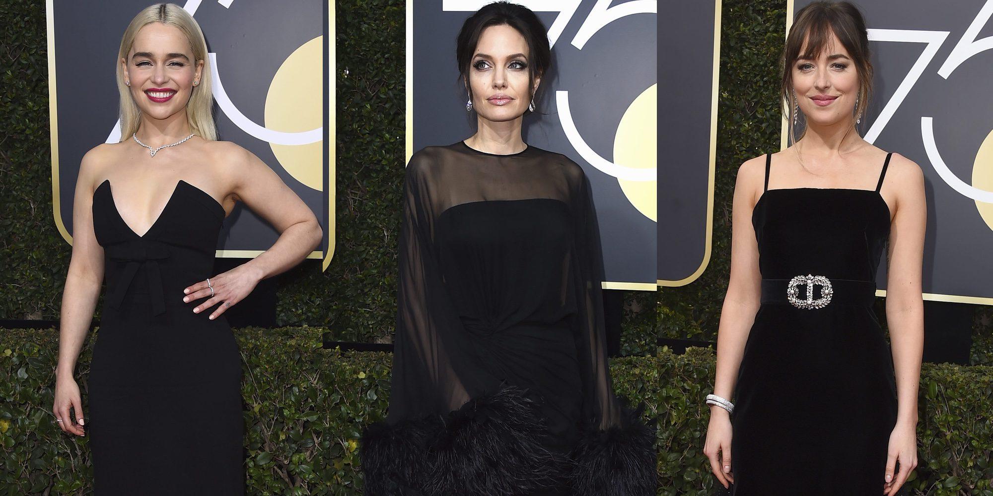 La alfombra roja de los Globos de Oro 2018, más negra que nunca
