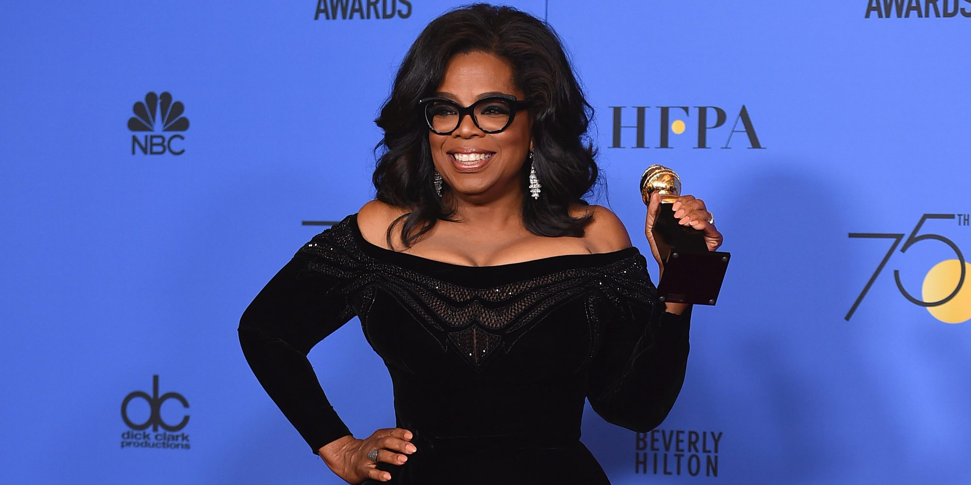 El poderoso discurso de Oprah Winfrey al recibir el premio honorífico Cecil B. DeMille