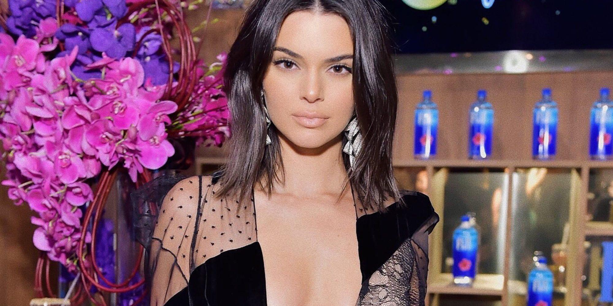 Kendall Jenner se defiende de los que criticaron su acné en los Globos de Oro 2018