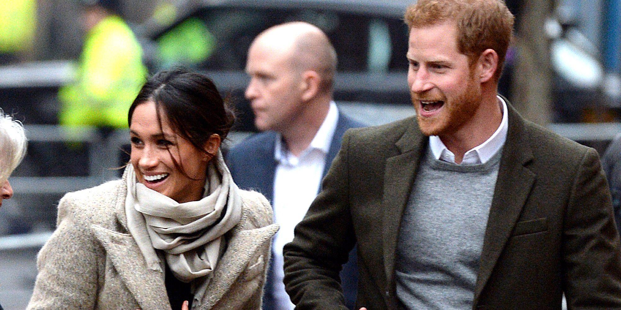 El Príncipe Harry y Meghan Markle, todo sonrisas y felicidad en su primer acto público de 2018