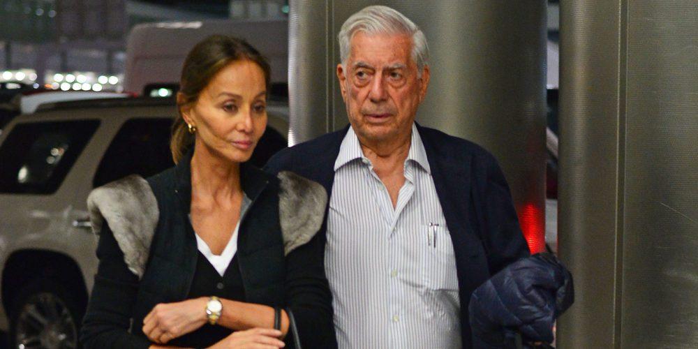 Isabel Preysler y Mario Vargas Llosa, tristes tras tener que despedirse de los mellizos de Enrique Iglesias y Anna Kournikova