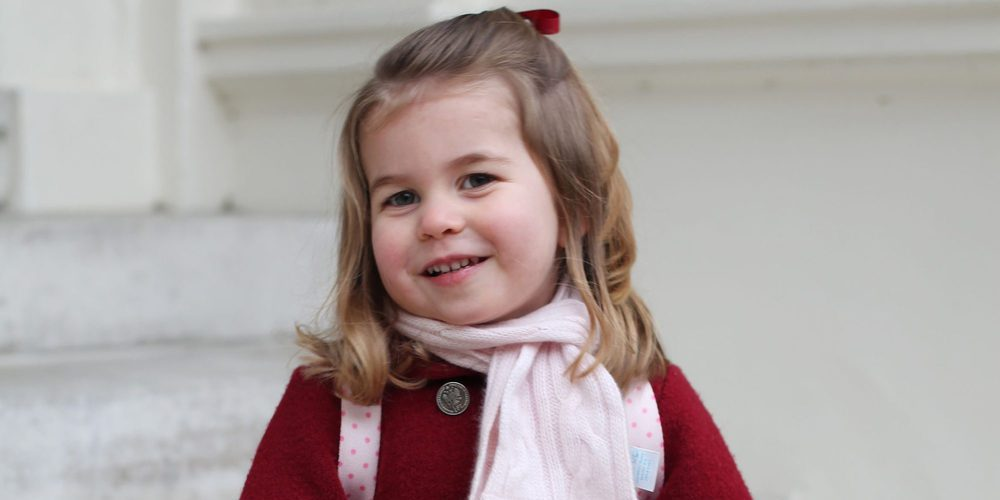Así es la Princesa Carlota, una niña adorable, educada y que sabe hablar español