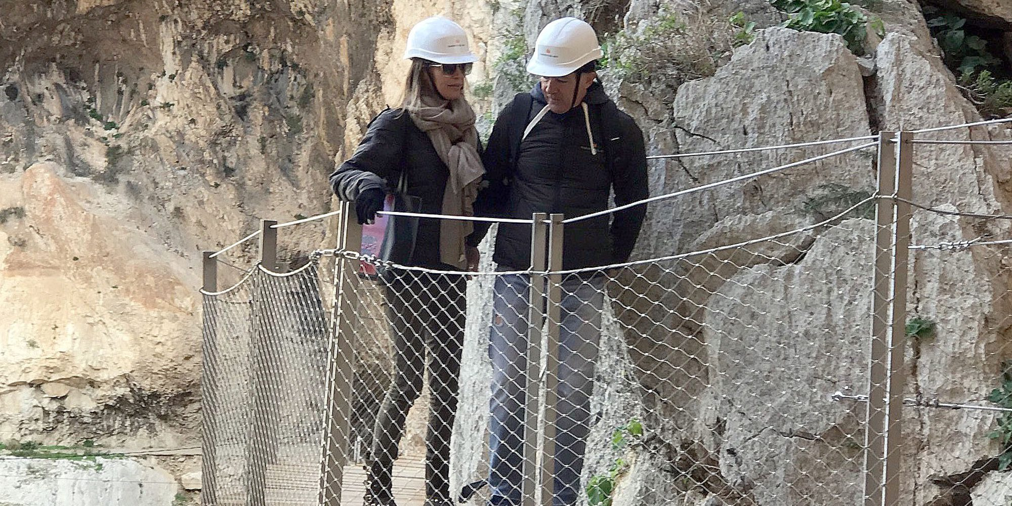 Antonio Banderas y Nicole Kimpel, dos enamorados de lo más aventureros