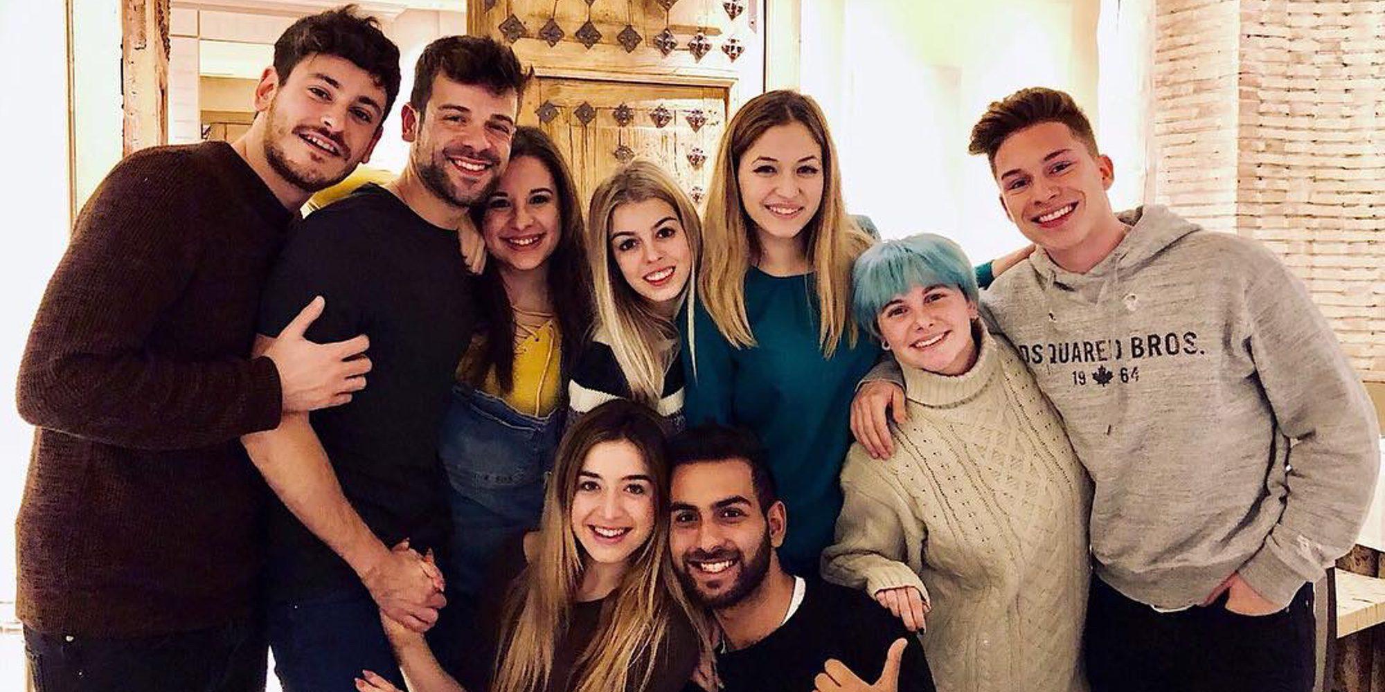 Los exconcursantes de 'OT 2017' y Noemí Galera protagonizan un divertido y virtual reencuentro